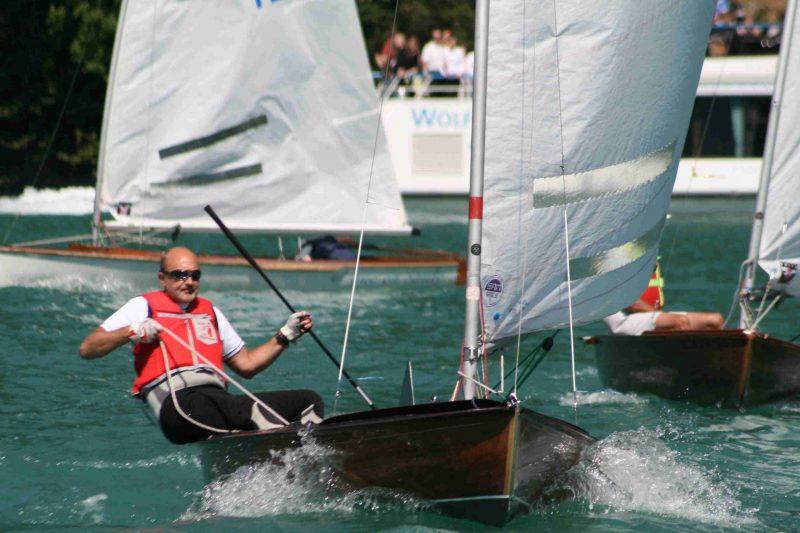 MH-K segelte 2007 die Europameisterschaft der O-Jollen auf dem Wolfgangsee